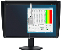 basiCColor Discus auf NEC Spectraview Reference Monitor
